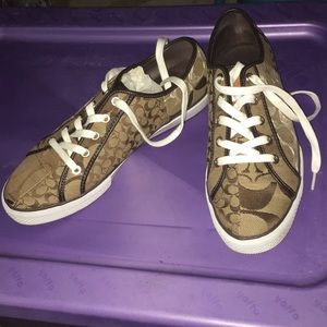Coach sneakers - worn only once